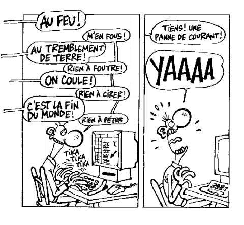 Accro de l'informatique
